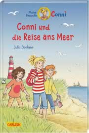 Cover Conni und die Reise ans Meer